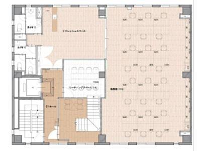 RENOBLE NINGYOCHO(旧:NCC富沢町ビル) 5階A間取りのサムネイル画像