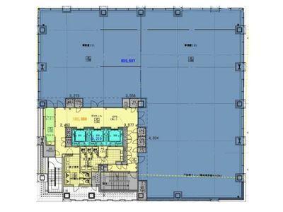 (仮称)内神田一丁目計画 7階間取りのサムネイル画像