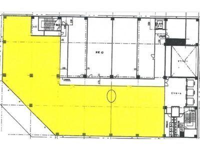 築地KYビル 4階1間取りのサムネイル画像