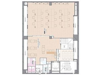RENOBLE NINGYOCHO(旧:NCC富沢町ビル) 5階B+6階間取りのサムネイル画像