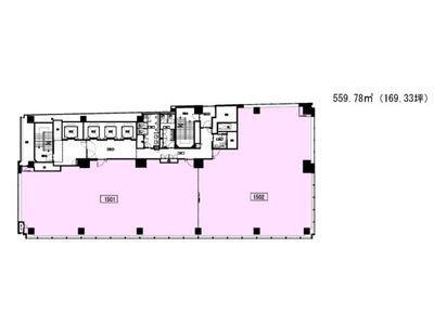 秋葉原センタープレイス 15階間取りのサムネイル画像