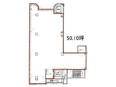 モンブラン銀座ビル 10階(店舗限定)間取りのサムネイル画像