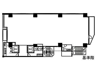 ザイマックス東麻布ビル(旧:トウセン東麻布) 2階間取りのサムネイル画像