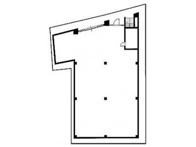 神宮前COURT C 地下1階(店舗限定)間取りのサムネイル画像