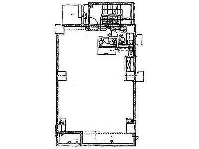 第二野村ビル 4階(店舗可)間取りのサムネイル画像