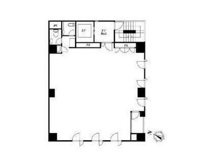 神田IKビル 3階間取りのサムネイル画像