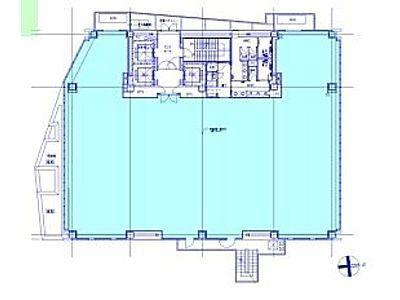 赤坂榎坂ビル(旧:赤坂榎坂森ビル) 11階間取りのサムネイル画像