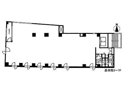 5階の間取り画像