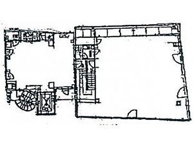 eisuビル市ヶ谷 2階(店舗可)間取りのサムネイル画像