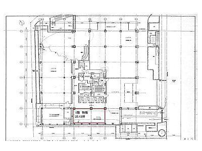 MFPR渋谷ビル 1階(店舗可)間取りのサムネイル画像