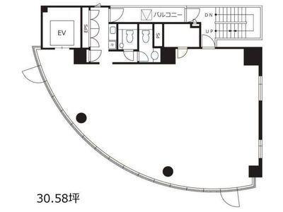 渋谷デュープレックスB's 4階間取りのサムネイル画像