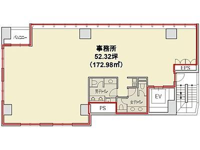 赤坂二丁目ビル 4階間取りのサムネイル画像