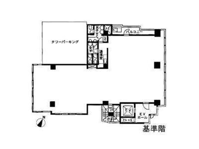 北品川369ビル 3階間取りのサムネイル画像