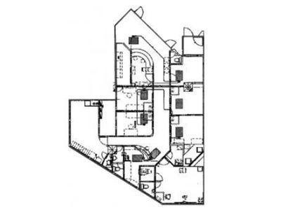 都道府県会館 地下1階(診療所,クリニック限定)間取りのサムネイル画像