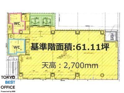 神田司町PREX 7階間取りのサムネイル画像