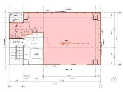 河北新報ビル 4階間取りのサムネイル画像