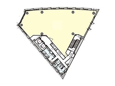 明産霞が関ビルディング 4階間取りのサムネイル画像