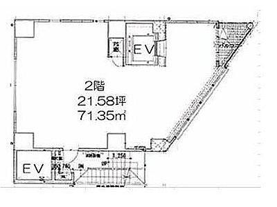 LASPACIO浅草レジデンス 2階(店舗限定)間取りのサムネイル画像