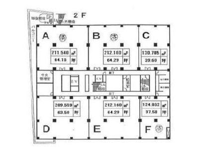 東都自動車ビルヂング 4階E間取りのサムネイル画像