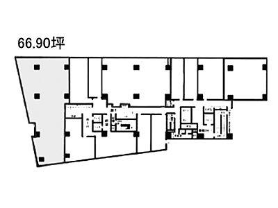 宮益坂ビルディング 2階I間取りのサムネイル画像