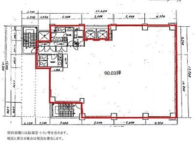 FUSE BLDG.Ⅰ 4階間取りのサムネイル画像