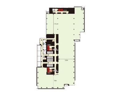 ミッドタウン・イースト 2階201間取りのサムネイル画像