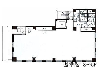 藤和神田錦町ビル 3階間取りのサムネイル画像