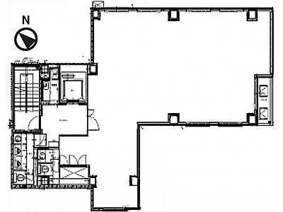 2階(店舗可)の間取り画像