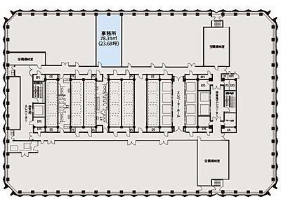 新宿センタービル 5階間取りのサムネイル画像
