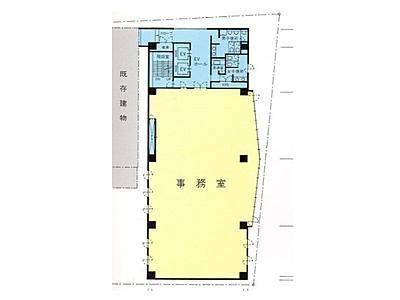 亀井ビル 2階間取りのサムネイル画像