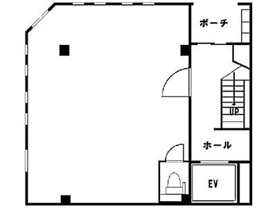 1階(店舗可)の間取り画像