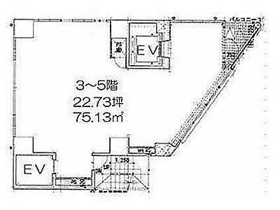 LASPACIO浅草レジデンス 4階(店舗限定)間取りのサムネイル画像