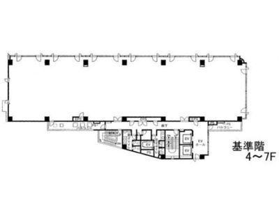 Daiwa笹塚ビル(旧称:笹塚サウスビル) 7階間取りのサムネイル画像
