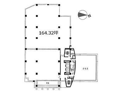 光陽ビル(江東区) 2階B間取りのサムネイル画像