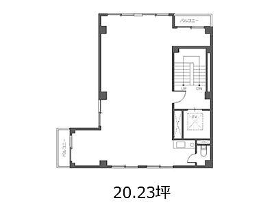 エイフ西浅草ビル 4階間取りのサムネイル画像