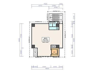(仮称)神保町3丁目 計画 新築工事 8階間取りのサムネイル画像