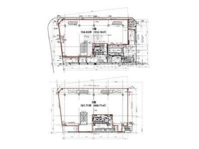 PARKWAY SQUARE 3(旧:(仮称)神南一丁目計画) 1階~2階(物販店舗限定)間取りのサムネイル画像