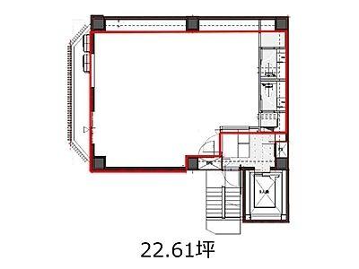 UD内神田三丁目ビル 4階間取りのサムネイル画像