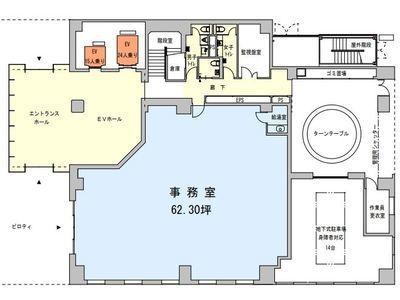 RBM京橋ビル 1階間取りのサムネイル画像