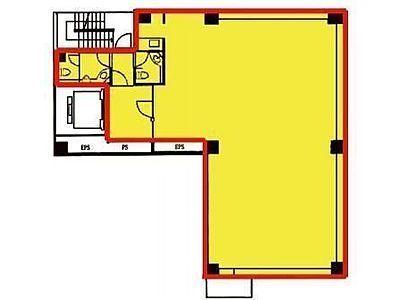 3階+5階の間取り画像