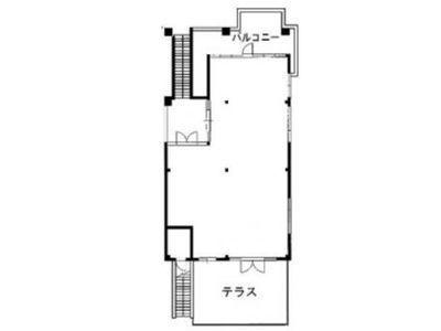 神宮前COURT A 1階(店舗限定)間取りのサムネイル画像