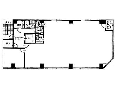 ルナ大住ビル 4階間取りのサムネイル画像