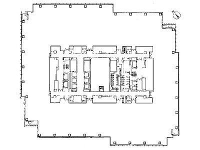 ミッドタウン・タワー 23階2306号室間取りのサムネイル画像