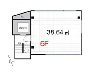 ACN高田馬場ビル(仮称)高田馬場新築ビル 5階(店舗限定)間取りのサムネイル画像