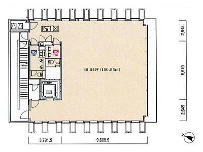 KKDビル 7階間取りのサムネイル画像