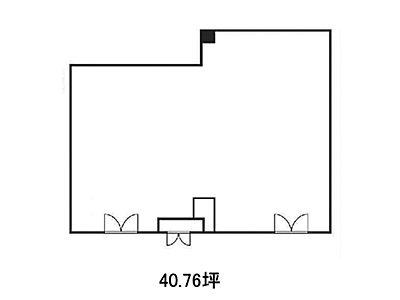 3階301(店舗限定)の間取り画像