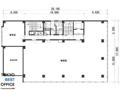 ニシザワビル 2階間取りのサムネイル画像