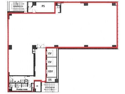 池袋デュープレックスビズ 14階間取りのサムネイル画像