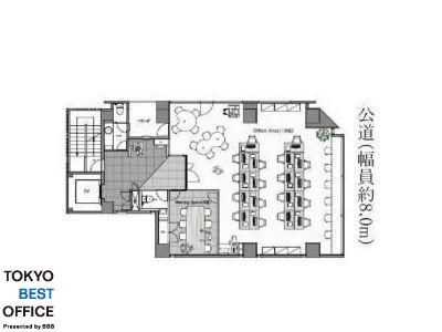 THE PORTAL AKIHABARA 6階間取りのサムネイル画像