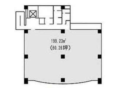 三田ネクサスビル 3階間取りのサムネイル画像